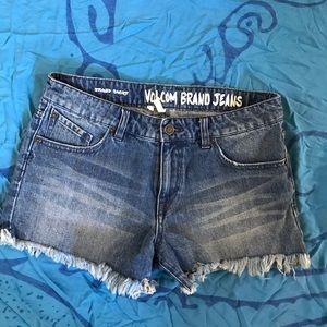 Volcom Stoned Jean Shorts